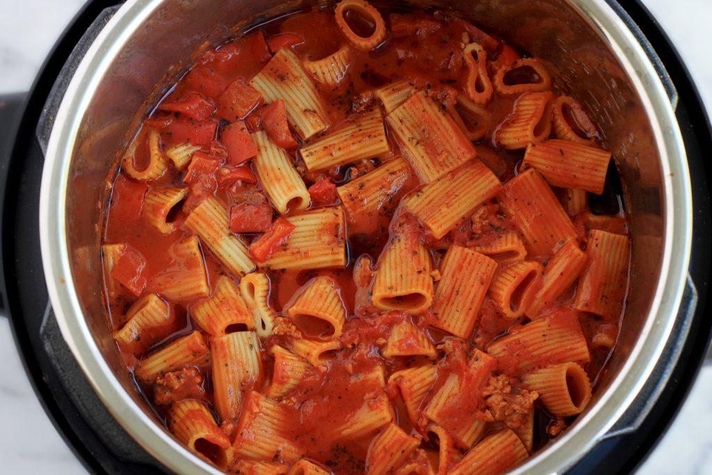 Instant Pot Sausage Rigatoni