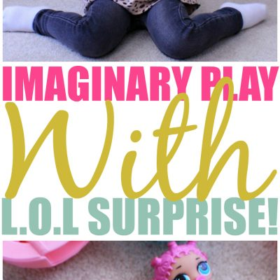 Imaginary Play With L.O.L Lil Outrageous Littles
