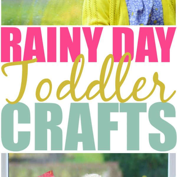 It's Raining, It's Pouring! 13 Rainy Day Crafts for Toddlers