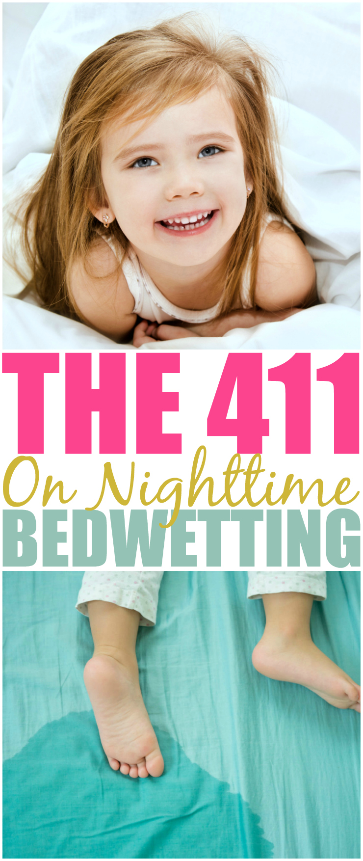 The 411 On Nighttime Bedwetting