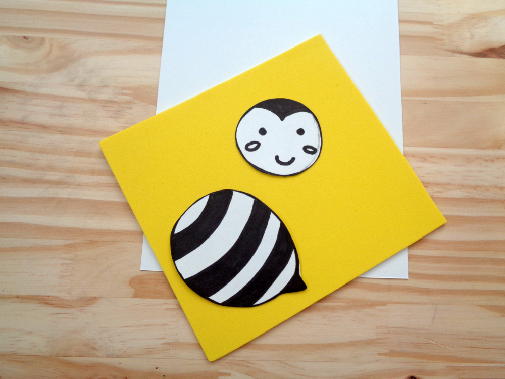You're An Un-BEE-Lievable Daddy DIY Father's Day Card