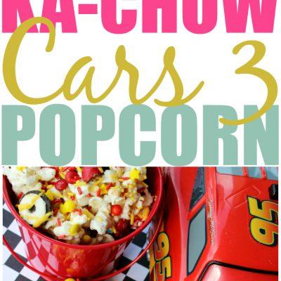 Ka-Chow Cars 3 Popcorn Recipe