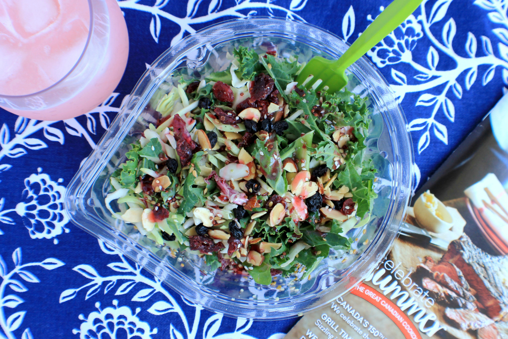 Eat Smart Salads Raspberry Açaí Salad Shake Ups