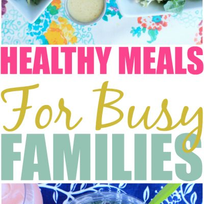 Fast And Healthy Meals For Busy Families With Eat Smart Salads