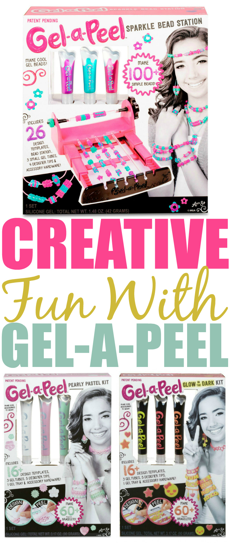 Endless Creative Fun With Gel-a-Peel Pinterest
