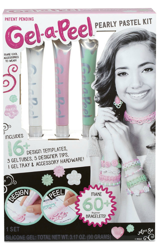 Gel-a-Peel Pearly Pastel Kit
