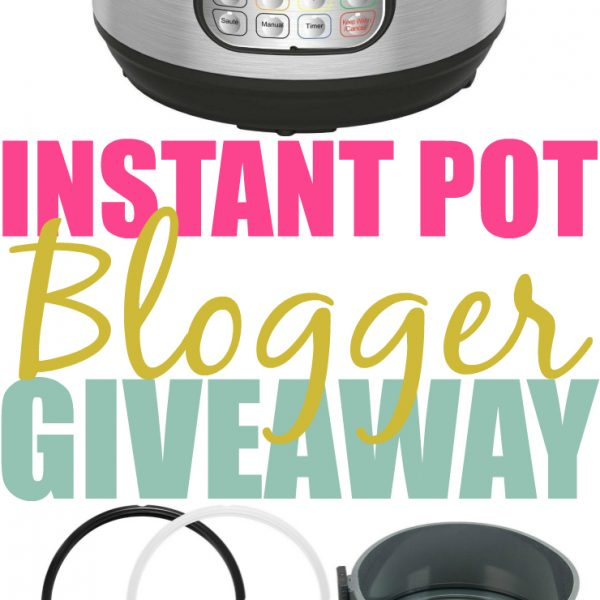 Enter To Win: Instant Pot Giveaway