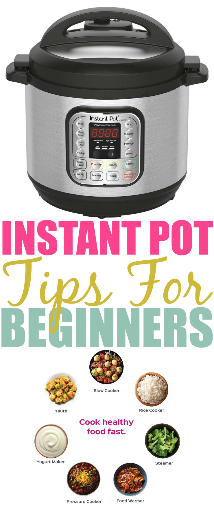 Instant Pot Tips For Beginners Pinterest