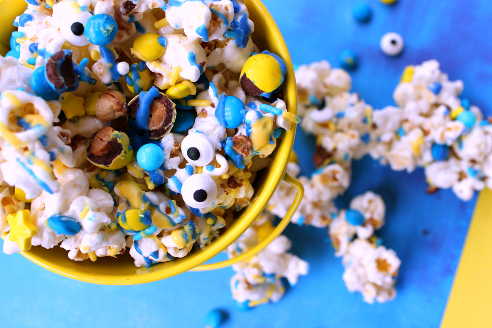 Minions Popcorn Recipe Despicable Me 3
