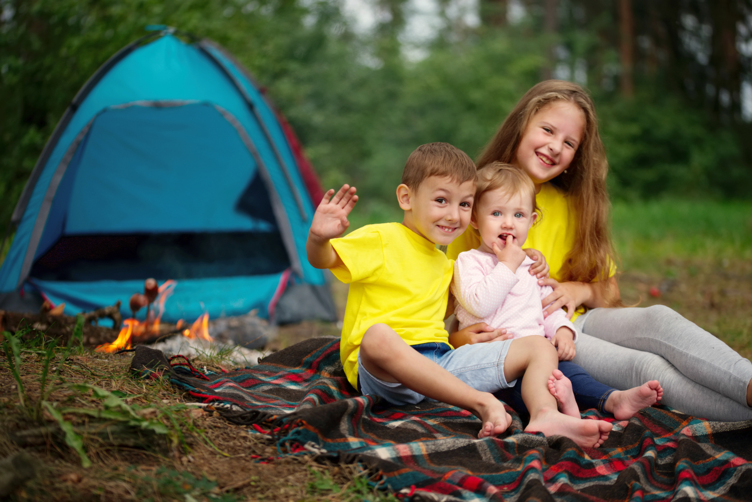 Must Try Hacks + Tips For Camping With A Baby
