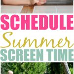 Setting A Schedule For Screen Time This Summer