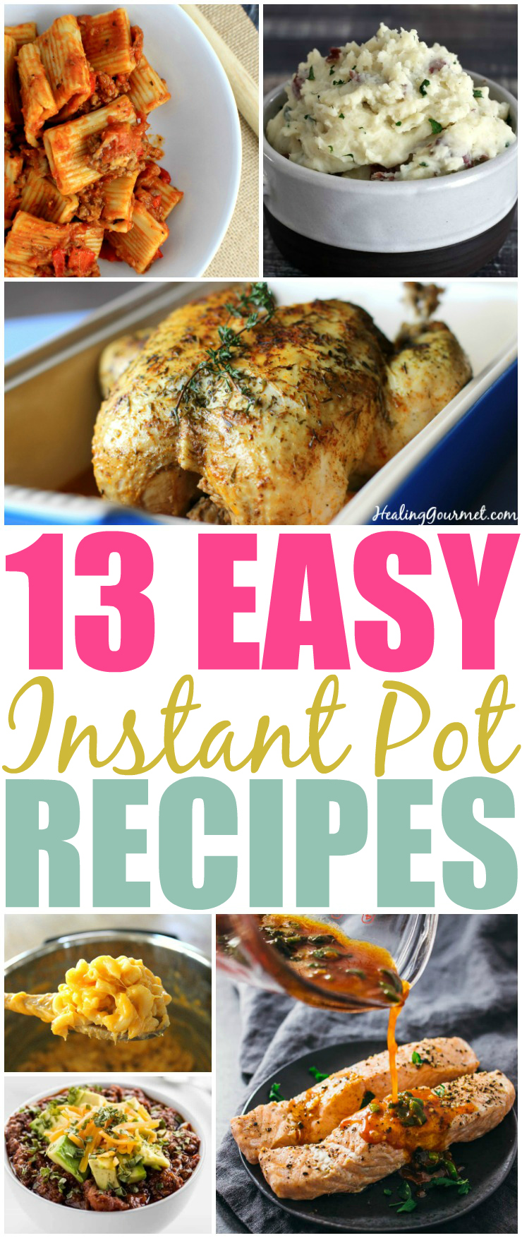 13 Easy Instant Pot Recipes For Beginners