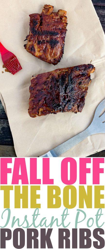 Fall Off The Bone Instant Pot BBQ Ribs