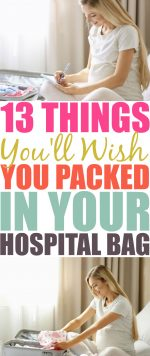 13 Things You'll Wish You Had Packed In Your Hospital Bag