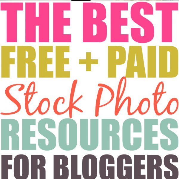 Don't Get Sued! The Best Paid And Free Stock Photo Resources For Your Blog