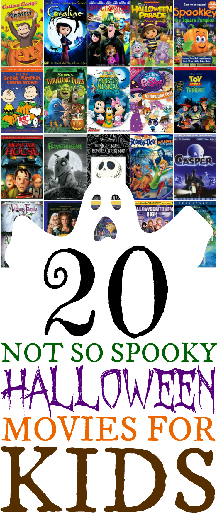 20 Not So Spooky Halloween Movies For Kids