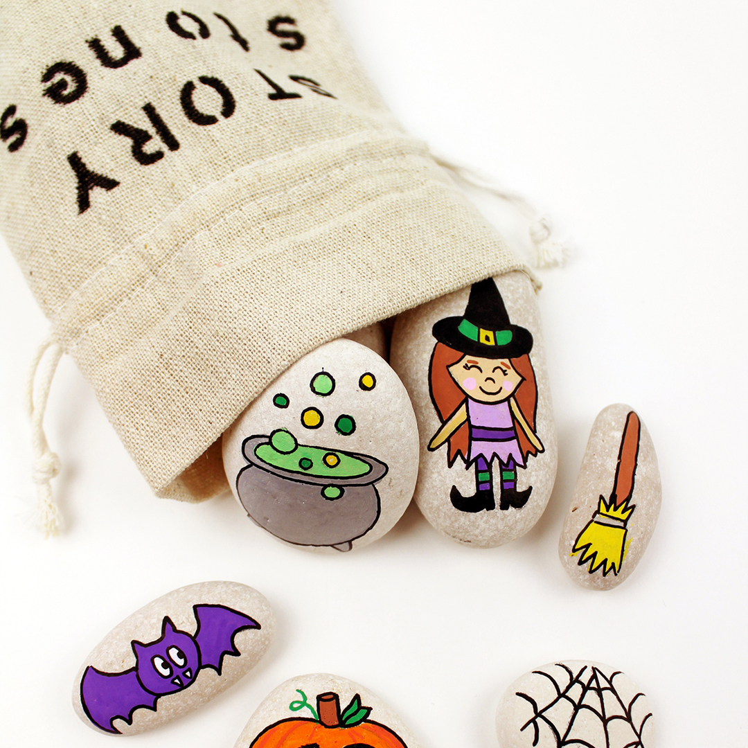 Make Your Own Halloween Story Stones