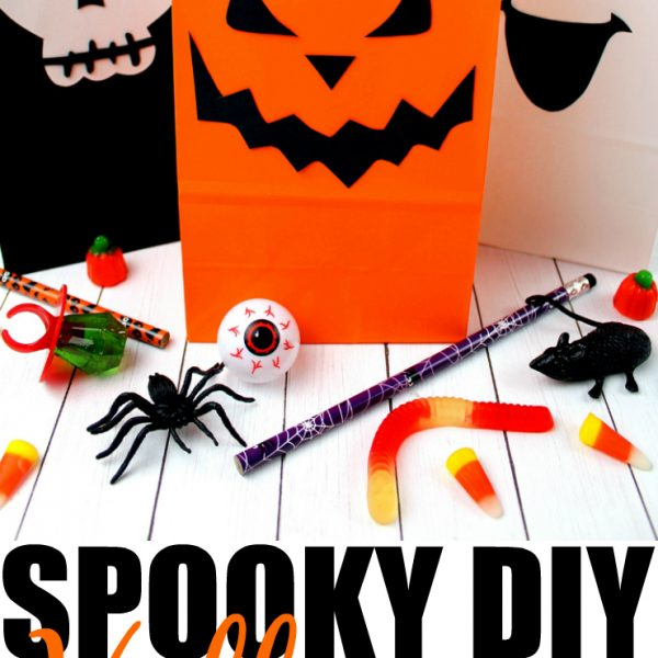 Spooky DIY Halloween Treat Bags