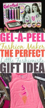 Create Your Own Fashion With The Gel-A-Peel Fashion Maker