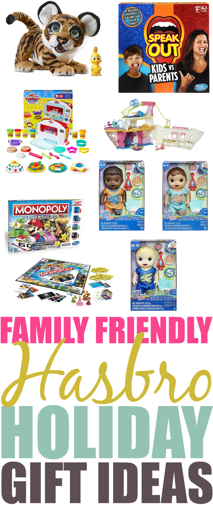 Hasbro Holiday Gifts For The Whole Family