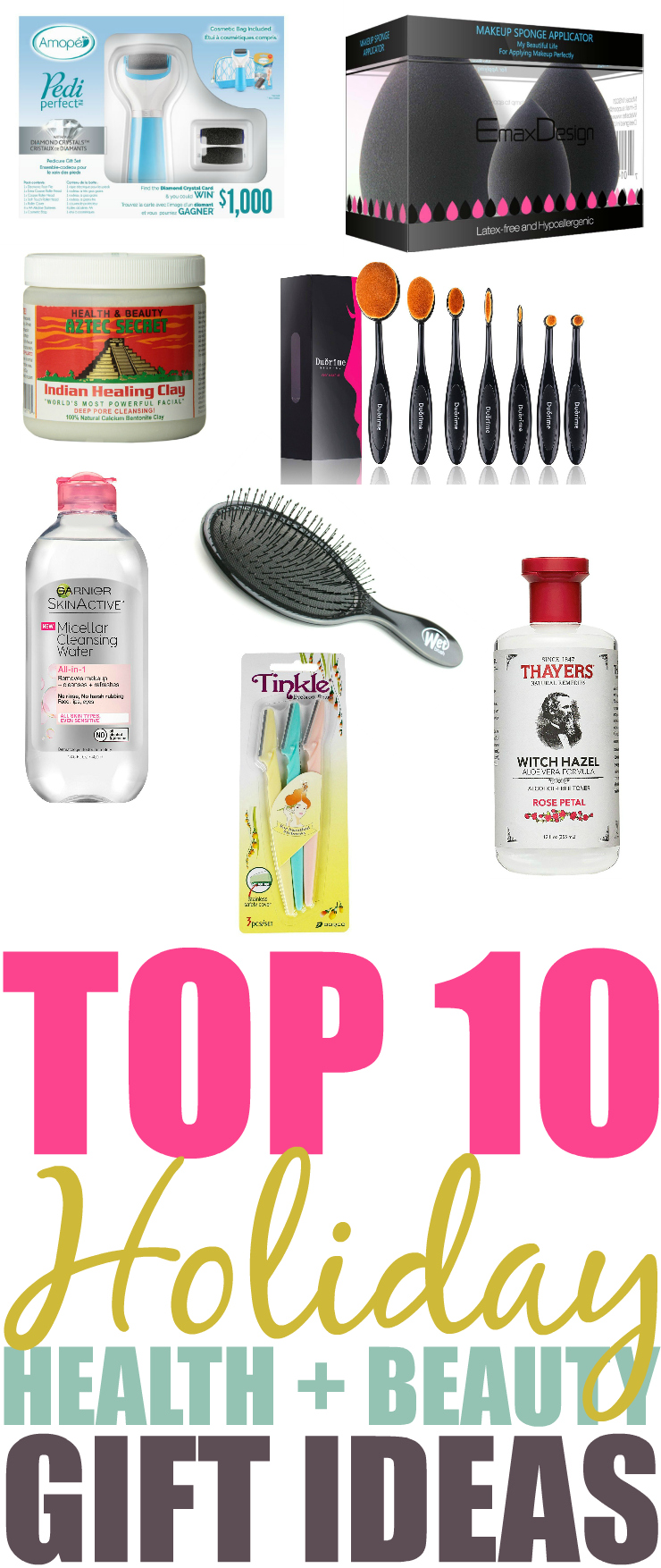 Top 10 Holiday Healthy & Beauty Gift Ideas