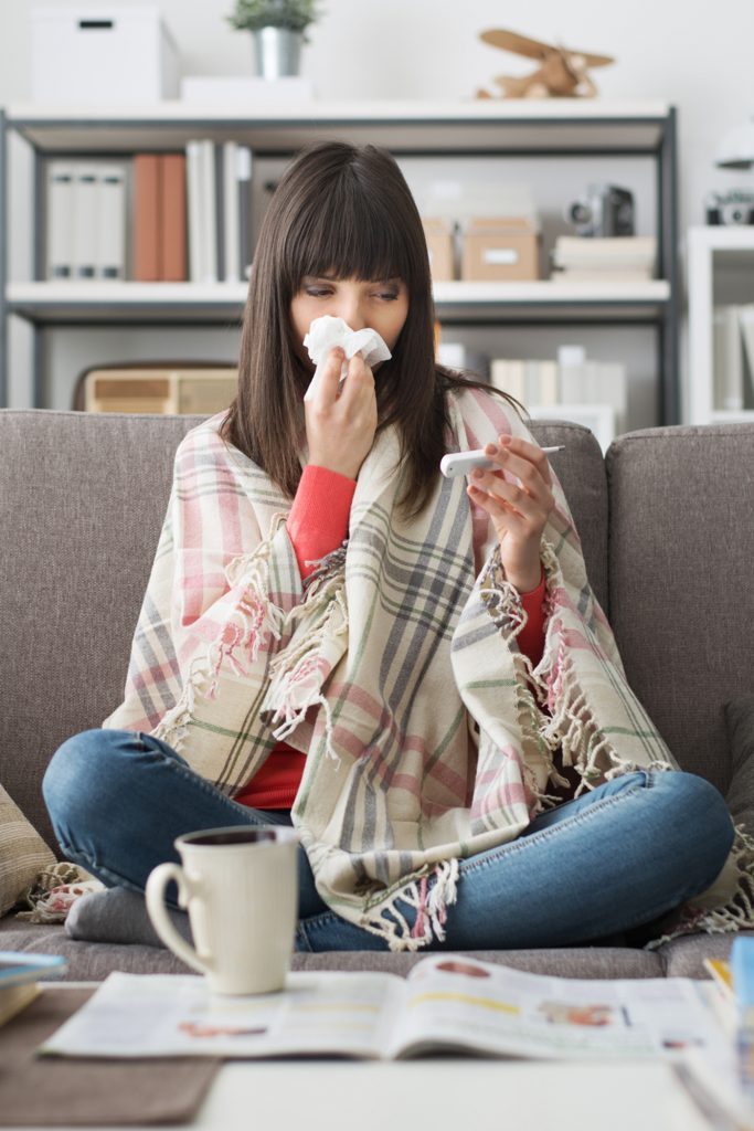 Stay Healthy - Cold and Flu Season Tips