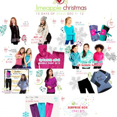 Check Out The Limeapple 12 Days of Christmas