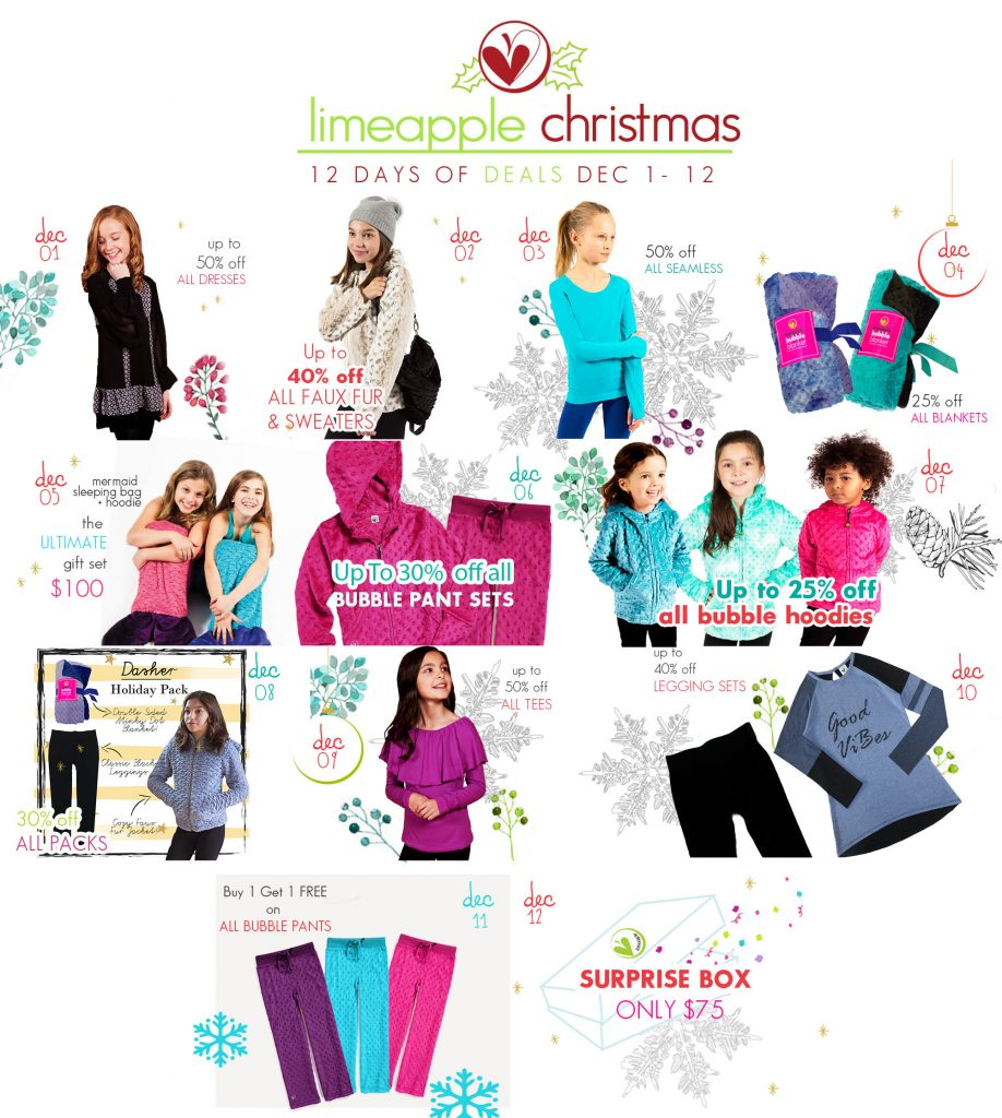 Limeapple 12 Days of Christmas