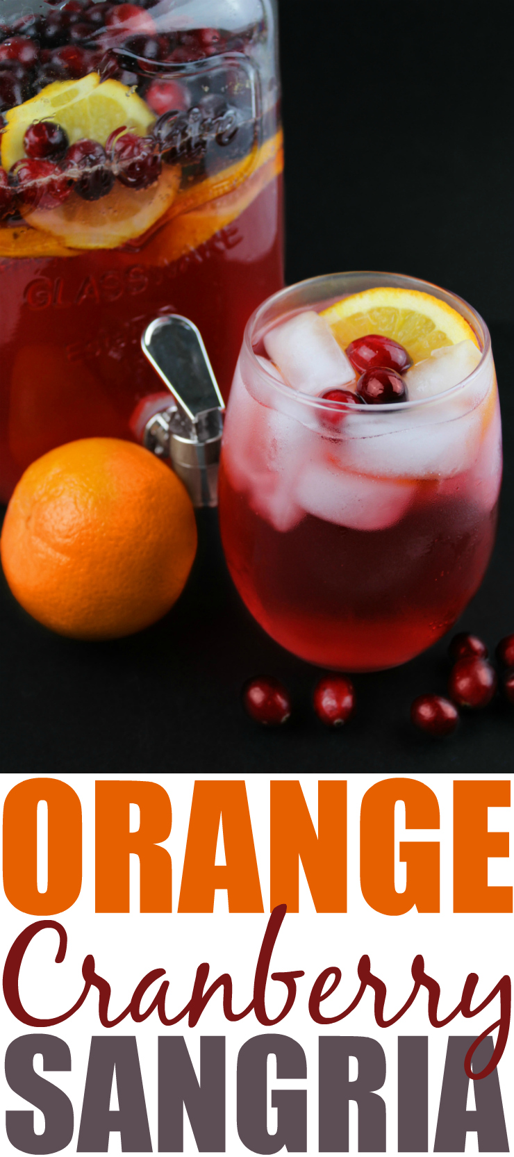 Orange Cranberry Sangria