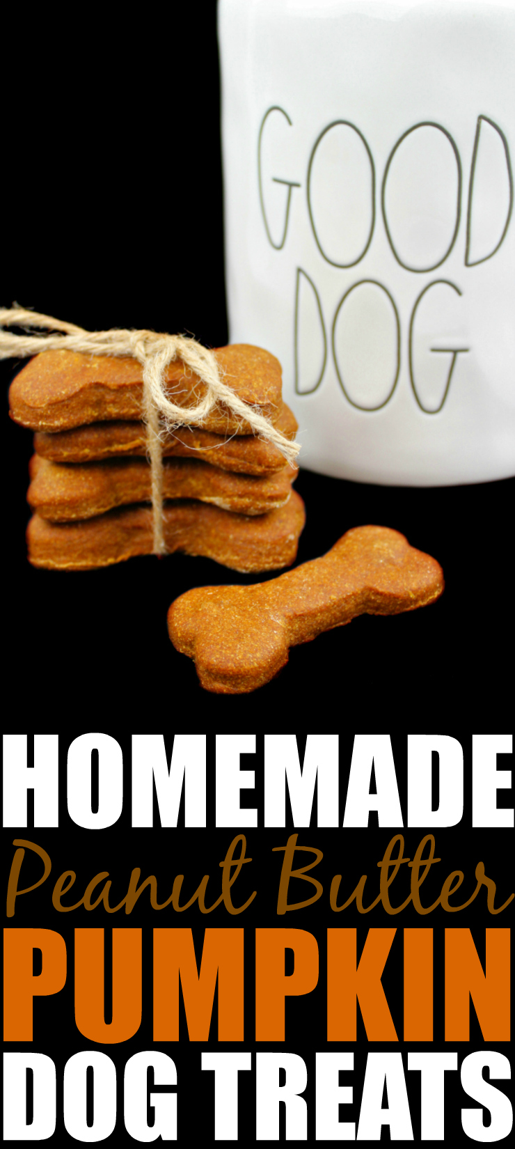 Peanut Butter Pumpkin Homemade Dog Biscuits Pinterest