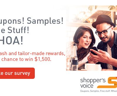 Take The 2018 Shoppers Voice Survey