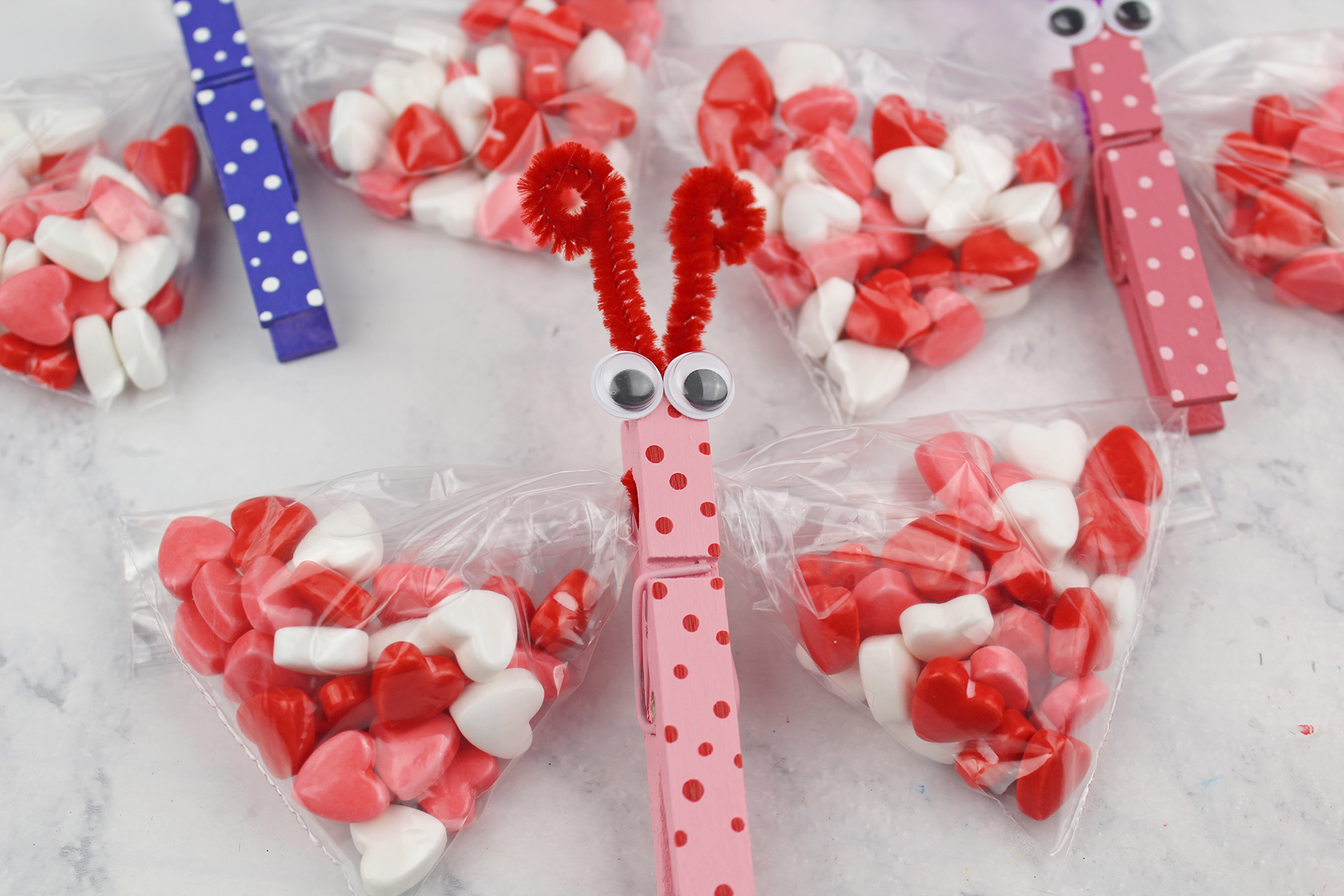 Butterfly Valentine S Day Treat Bags Extreme Couponing Mom