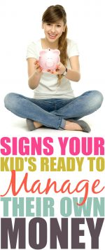 Signs Your Child is Ready to Manage Their Own Money