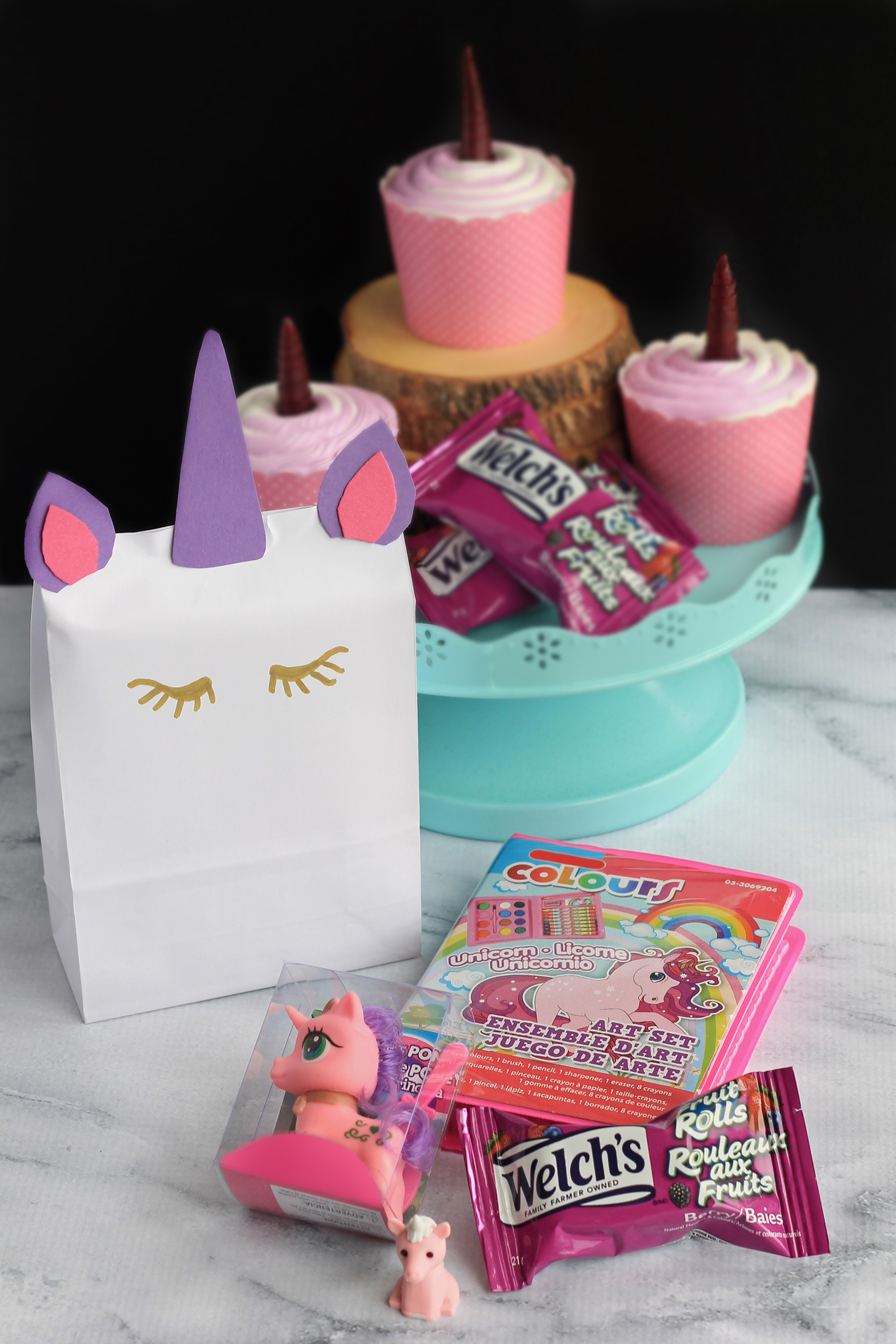 Unicorn Birthday Party With Welch's Fruit Rolls