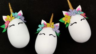 Magical Unicorn Easter Eggs