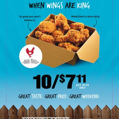 7-Eleven's National Wing Weekend!