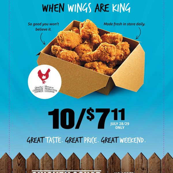 What's Better Than National Chicken Wing Day? 7-Eleven's National Wing Weekend!