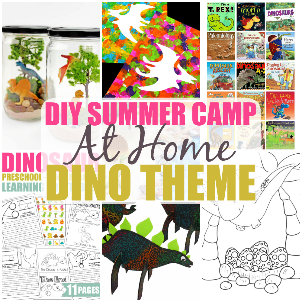 DIY Summer Camp At Home: Dinosaur Theme