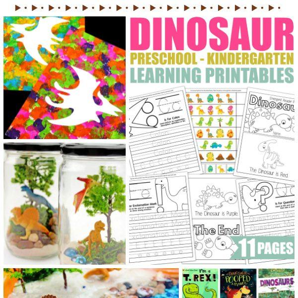 DIY Summer Camp At Home: Dinosaur Theme