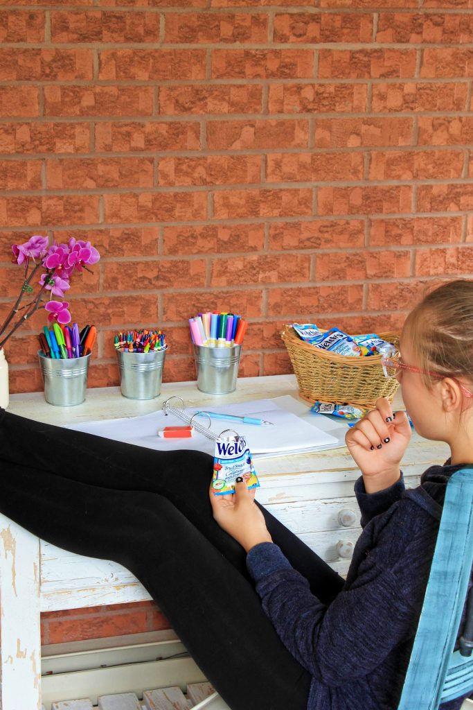 Beat The Homework Battle With A Fun DIY Homework Station