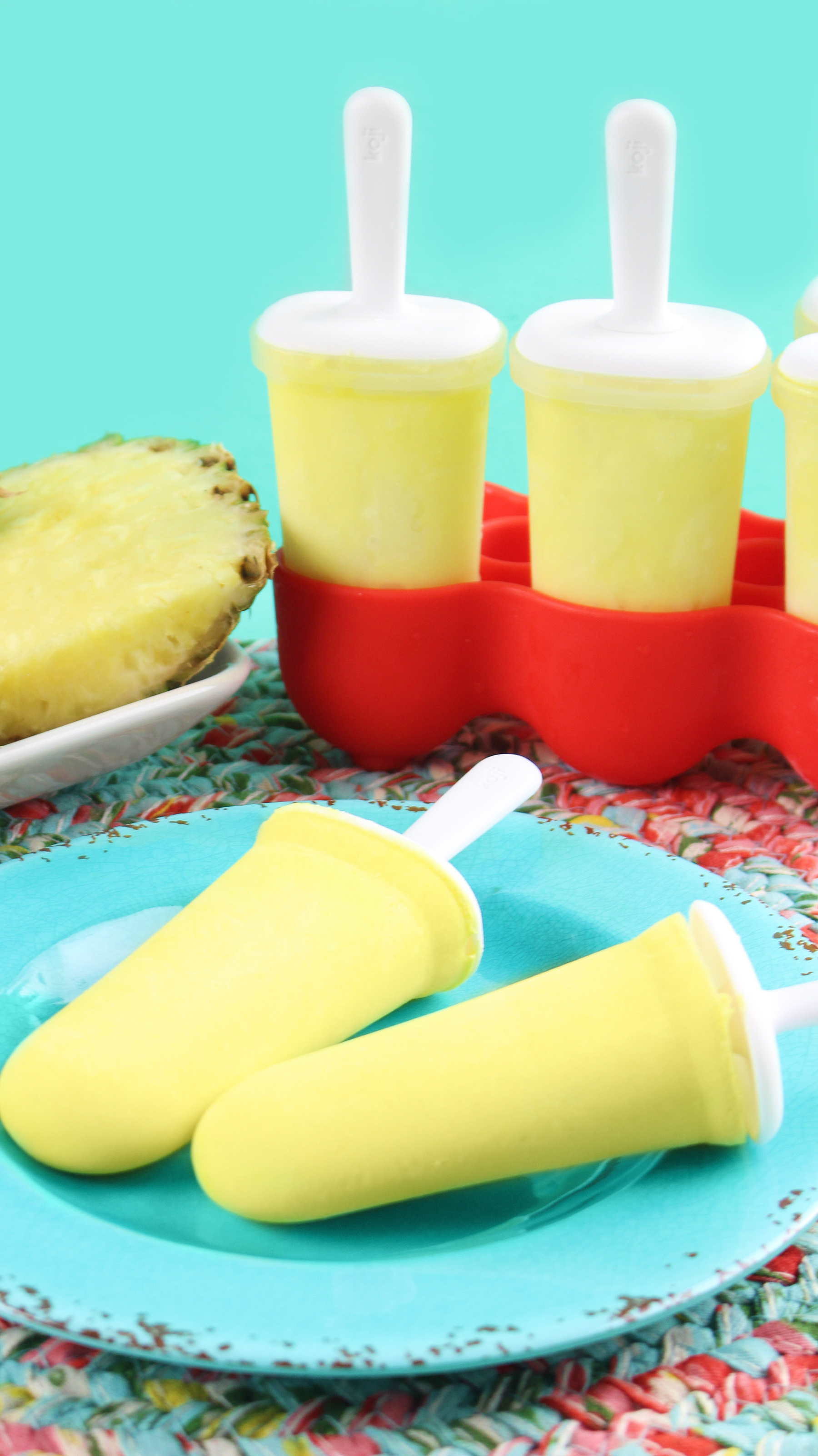 Disneyland Dole Whip Popsicles