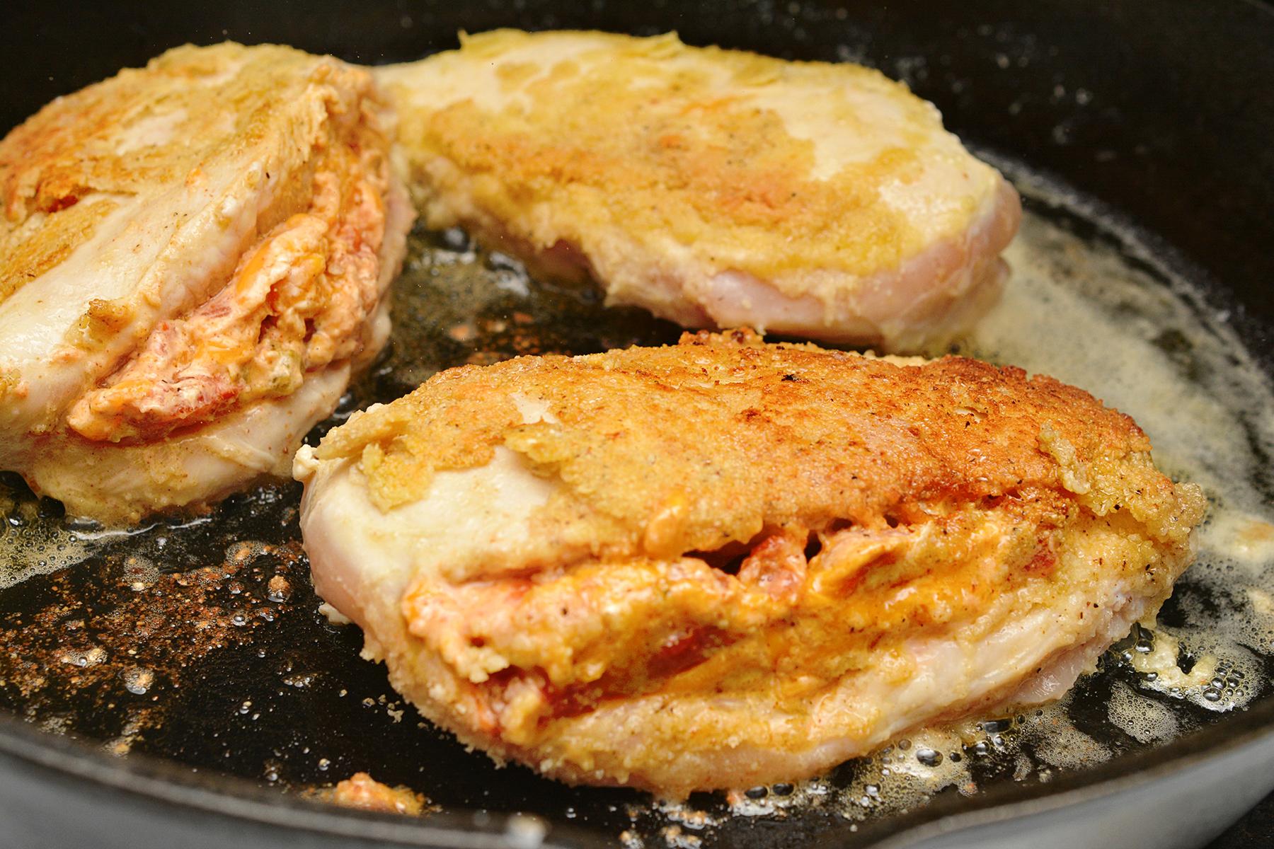 Keto Nacho Stuffed Chicken Breast