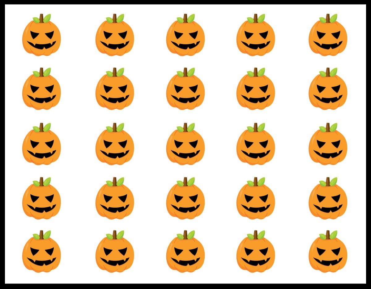 Halloween Bingo Markers