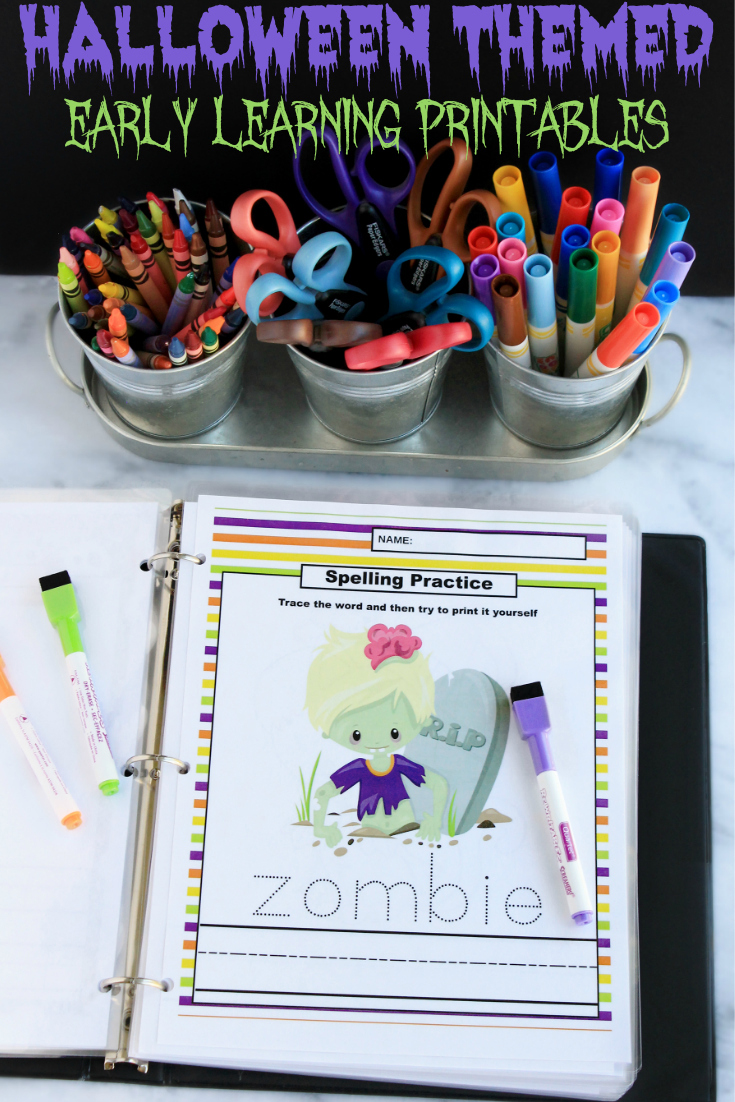 Halloween Learning Printables