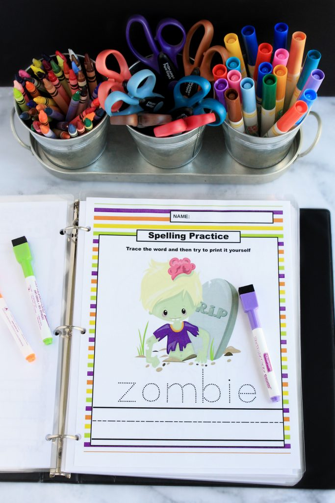 Halloween Early Learning Printables