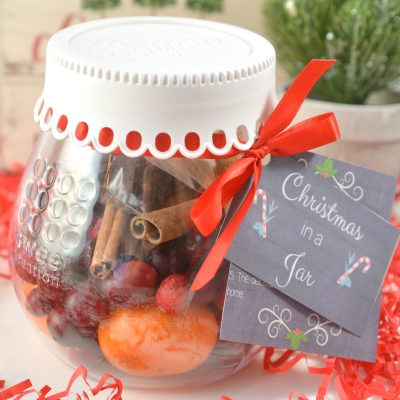 Christmas Gift Idea: DIY Christmas Potpourri in a Jar