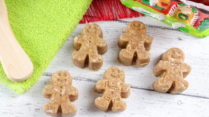 DIY Gingerbread Sugar Scrub Men