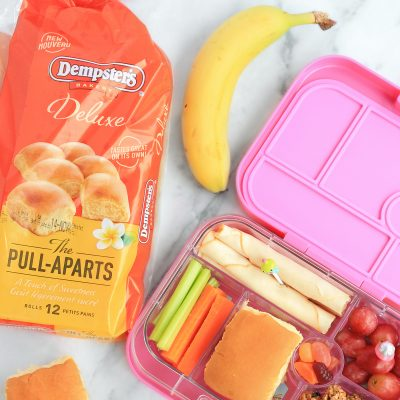 Easy On-The-Go Snacking & Lunches With Dempster's Pull-Aparts