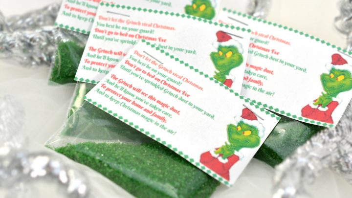 Don't Let The Grinch Steal Christmas With Grinch Dust
