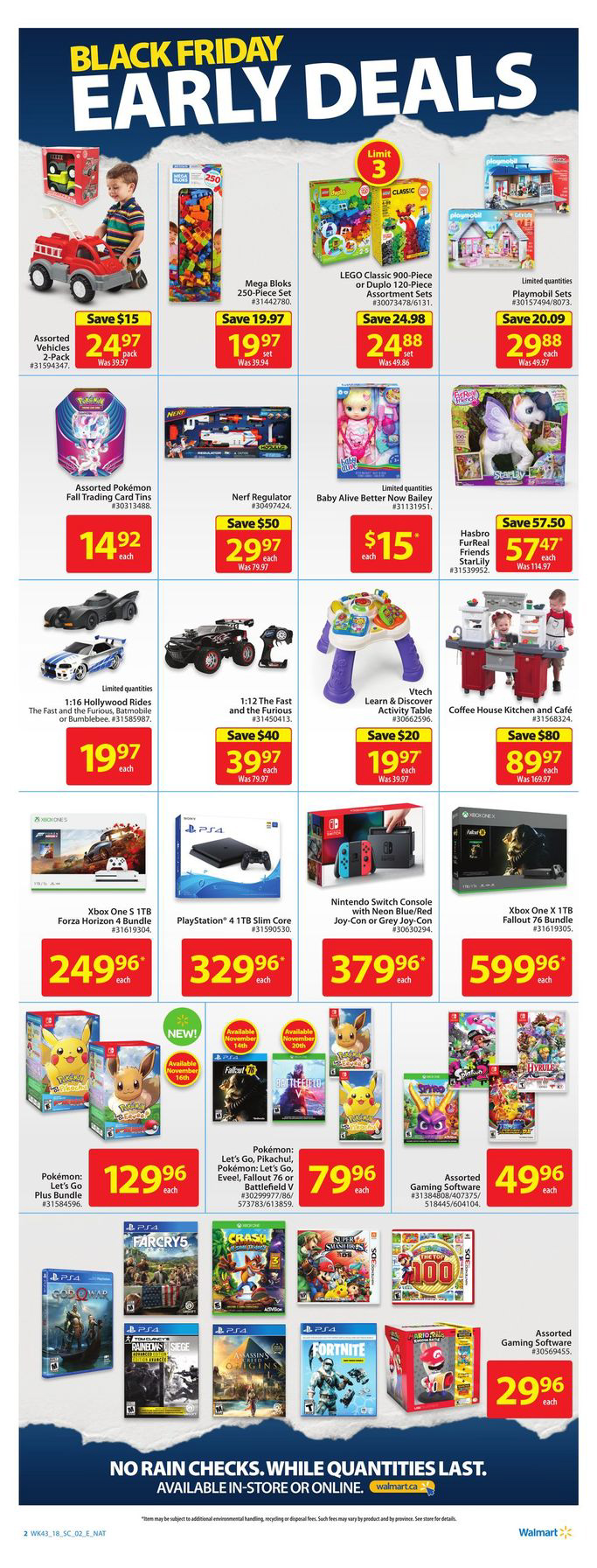 Walmart Canada's Pre Black Friday Sale - Extreme Couponing Mom